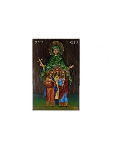 Αγία Σοφία και οι Κόρες της Αγάπη, Πίστη, Ελπίδα