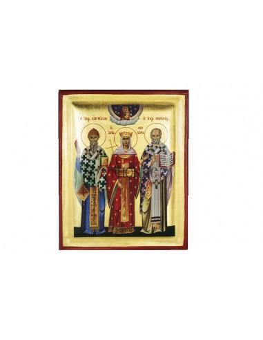 Άγιος Σπυρίδων, Παναγία Αθωνίτισσα ή Αγίου Όρους και Άγιος Νικόλαος