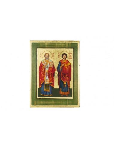 Άγιος Νικόλαος και Άγιος Παντελεήμων