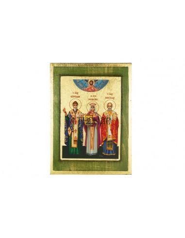 Άγιος Νικόλαος, Αγία Θεοδώρα και Άγιος Σπυρίδων
