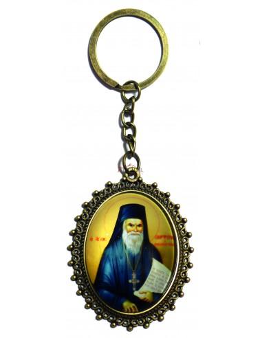 Μπρελόκ Άγιος Πορφύριος ο Καυσοκαλυβίτης