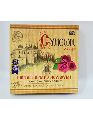 Μοναστηριακό λουκούμι-Τριαντάφυλλο (150gr)